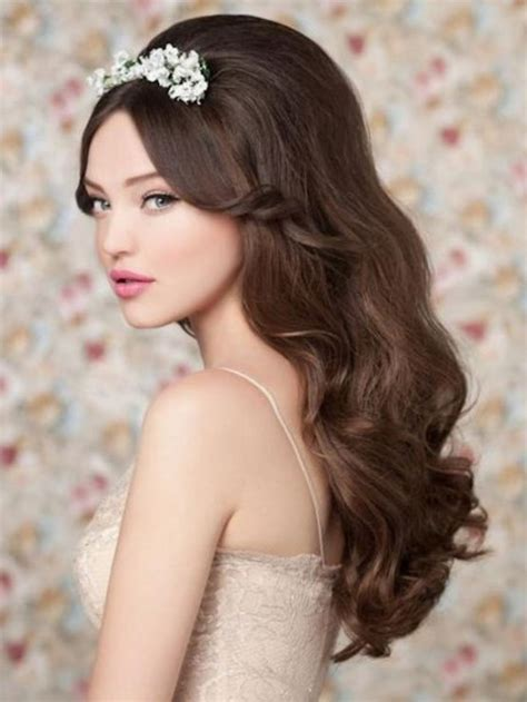 20 classic wedding hairstyles long hair magment