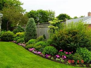 beautiful, flower, bed, border, , , rickyhil, outdoor, ideas
