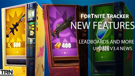 fortnite tracker features  fortnite update news