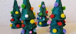 Weihnachtsbäume Aus Papier Basteln : weihnachtsb ume aus eierkartons basteln quatsch ~ Orissabook.com Haus und Dekorationen