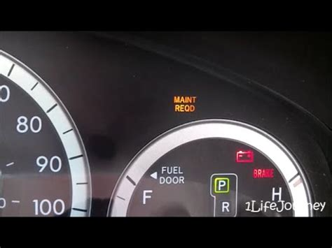 toyota rav4 maintenance required light meaning remove maint reqd from toyota 2014 autos post