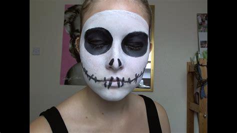 halloween jack skellington   tutorial youtube