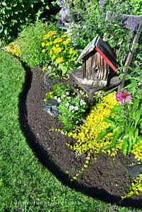 Hometalk How to edge flower beds like a pro!