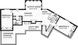 daylight basement home plans ranch house plans daylight basement house plans sloping lot