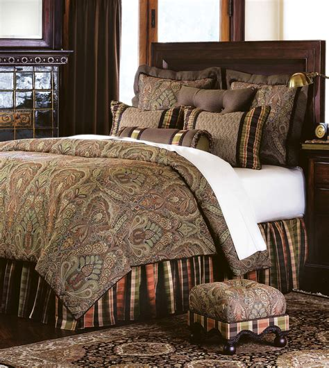Luxury Bedding By Eastern Accents  Broderick Bedset