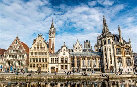 Rooftops Spires And Façades The Architecture Of Ghent