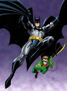 Art Adams ......Batman & Robin, in TOM SMITH 27 year ...
