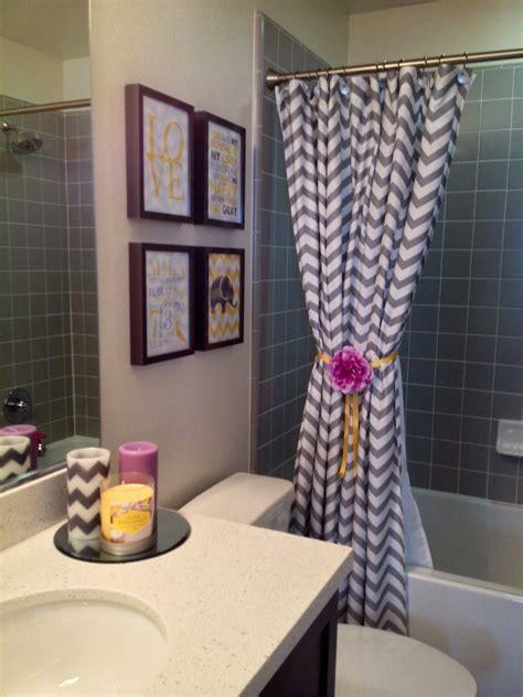 Chevron Bathroom Ideas by Mila S Lilac White Grey Chevron Bathroom Baby Ideas