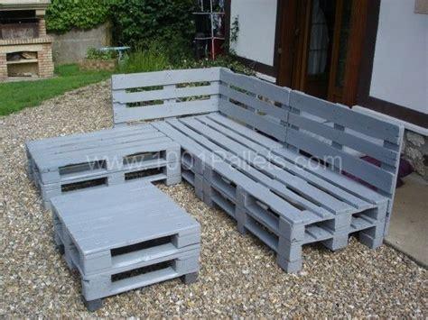chaise en bois de palette pallets garden lounge salon de jardin en palettes europe