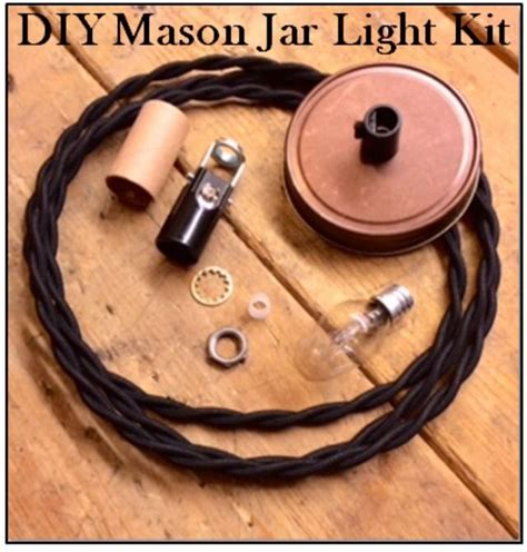 Mason Jar Light Kit Diy Pendant Lamp Parts