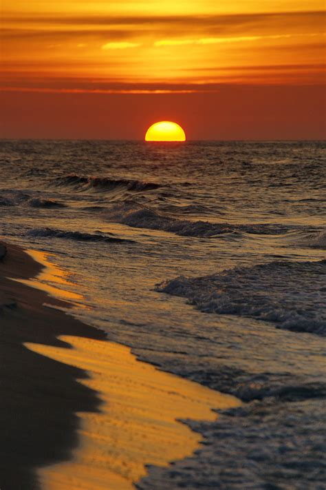 Sunset Over Baltic Sea By Citizenfresh On Deviantart