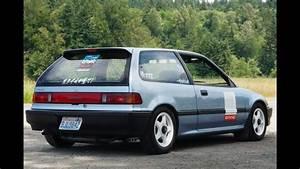 Back Roads In A 1988 Honda Civic Ef Hatch
