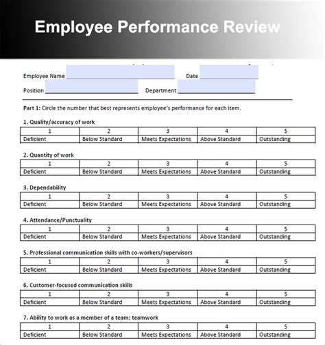 employee review template bravebtr