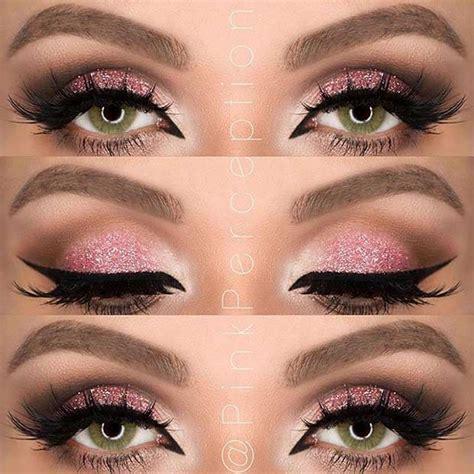 eye makeup   green eyes