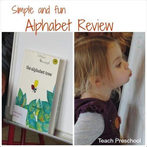 simple  fun alphabet review  preschool  images