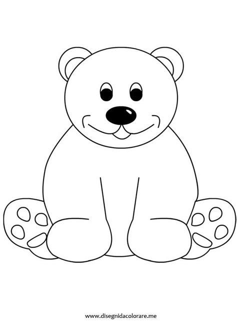 immagini colorate da stare orsetto inverno coloring pages colori disegni da