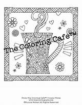 Coloring Etsy Colouring Pages sketch template