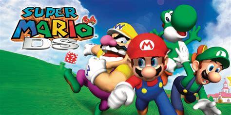 Super Mario 64 Ds Nintendo Ds Games Nintendo