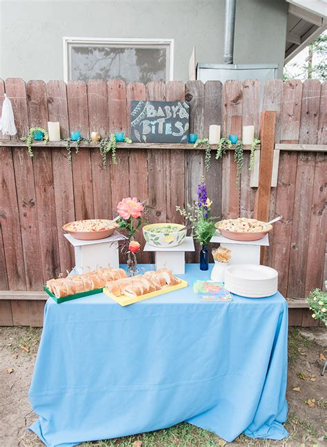 backyard baby shower colorful backyard baby shower inspired by this