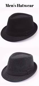 Stylish Simple Solid Color Felt Fedora For Men | Todd's ...