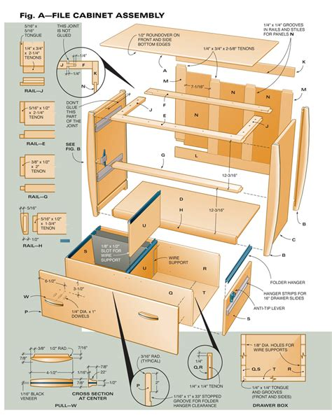 aw extra    file cabinet popular woodworking magazine