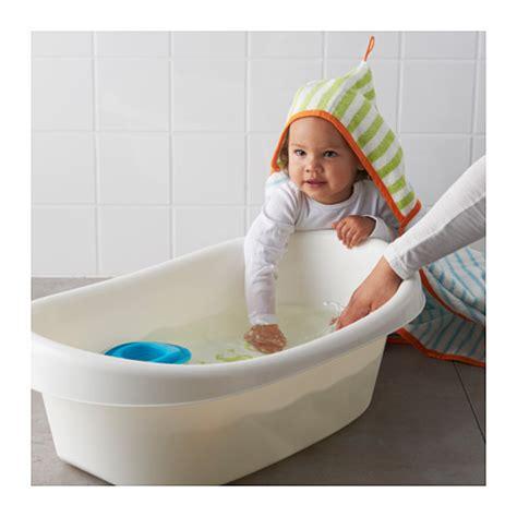 Support Pour Baignoire Bébé Ikea by L 196 Ttsam Baby Bath White Green Ikea