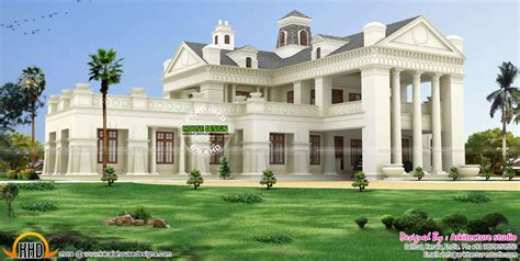 two house plans with front porch luxury colonial style house architecture kerala home