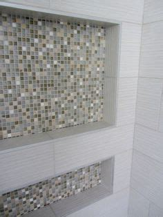 removing mosaic tiles  shower niche box