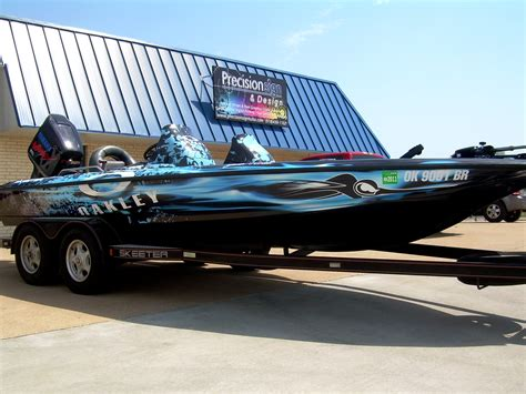 Bass Pro Boat Flags by Bass Boat Wraps Precision Sign Design