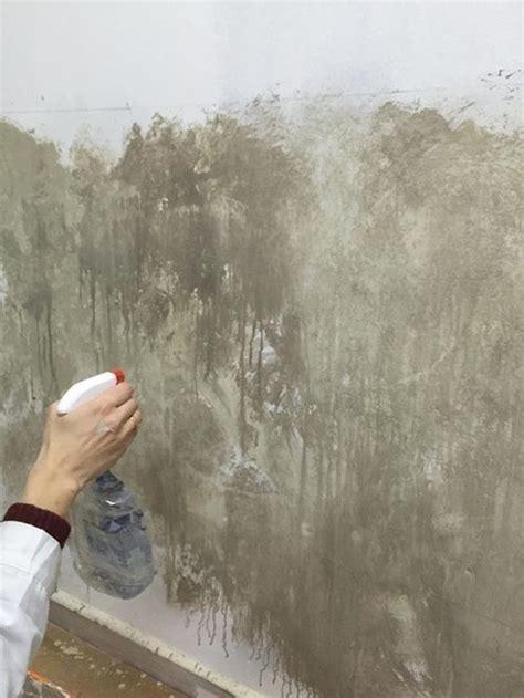 ideas  pintar una casa paredes  efecto desgastado
