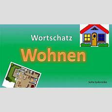 Wortschatz Wohnen Deutsch A1 Youtube