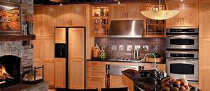 craftsman style cabinets designs house furniture With rustic kitchen designs photo gallery