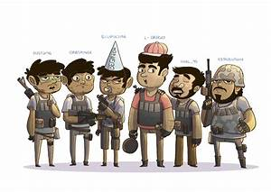 PUBG Squad By AngshumanDhar On Newgrounds