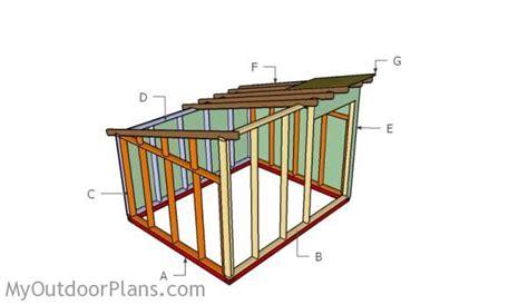 goat shed design goat shelter plans myoutdoorplans free woodworking