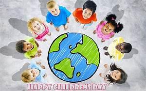 Happy International Global Childrens Day Hd Wallpaper