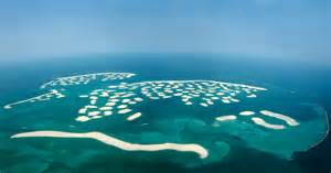 dubai s world of islands is sinking into the sea the world