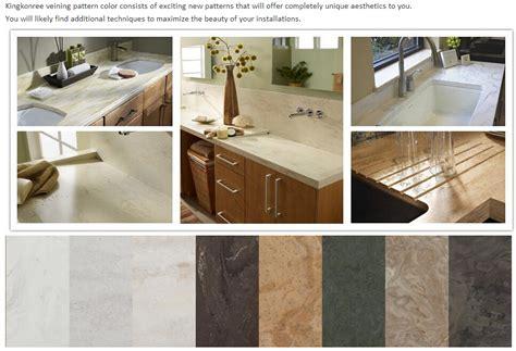 Engineering Countertops by Custom Engineering White Solid Surface Bathroom
