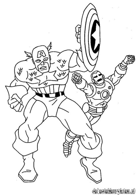 captain america6 printable coloring pages