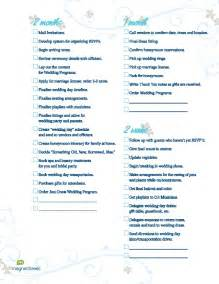 basket for wedding programs wedding planning checklist