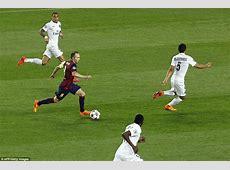 Barcelona 20 Paris St Germain agg 51 Neymar scores