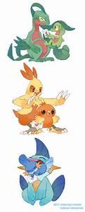 Generation 3 Starter Pokemon Pokemon Pinterest