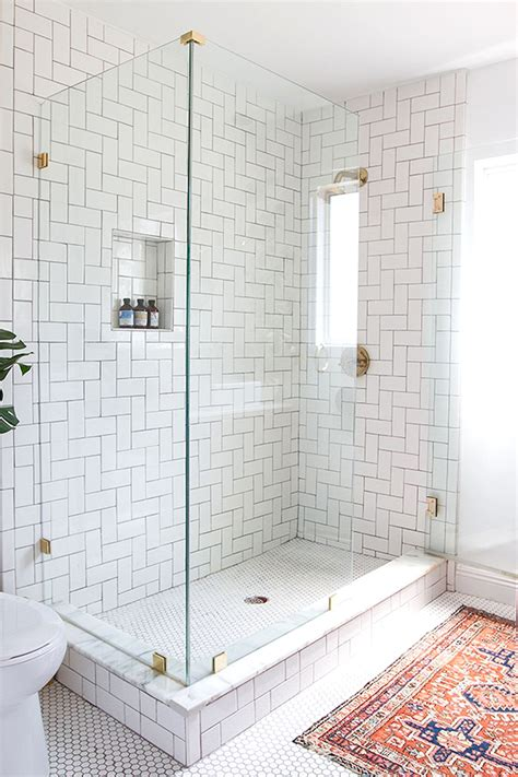 Design Crush: Brushed Gold Bathroom Fixtures LivvyLand Austin Fashion and Style Blogger