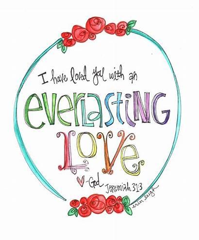 Scripture Printable Jeremiah Sunday Everlasting Bible Verses