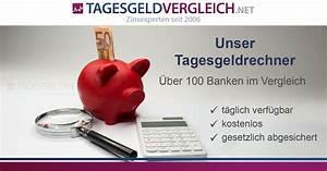 Zinsen Sparbuch Berechnen : tagesgeldrechner 07 2018 zinsen von ber 100 banken vergleichen ~ Themetempest.com Abrechnung