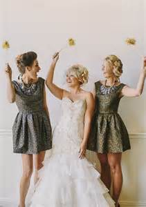 metallic bridesmaid dresses the ultimate guide to sparkling metallic dresses for your wedding hey wedding