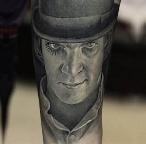 A Clockwork Orange inspired tattoo | Movie tattoos ...
