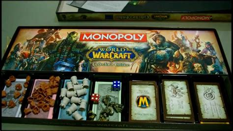 world  warcraft monopoly unboxing hd youtube
