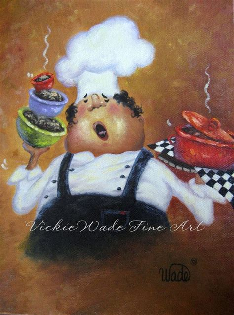 chef cuisine pic singing chef print chef kitchen paintings