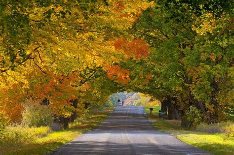 beautiful places  michigan  visit   fall michigan