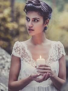 louise paris laure de sagazan ruiz ecru white fine lace With robe dentelle ecru